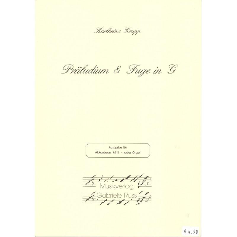 Präludium & Fuge in G-dur