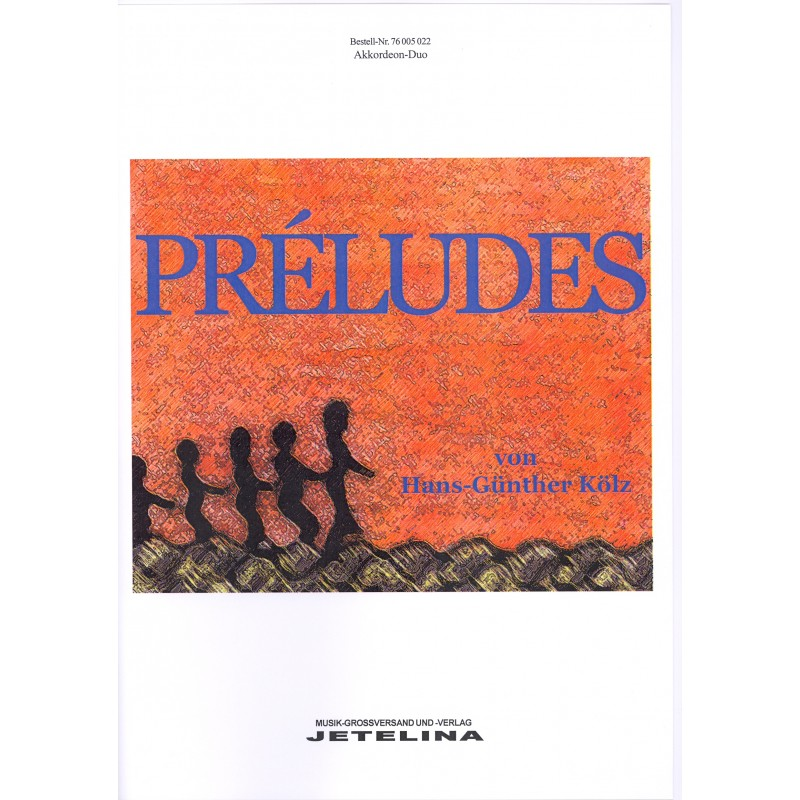 Preludes für akkordeon duo