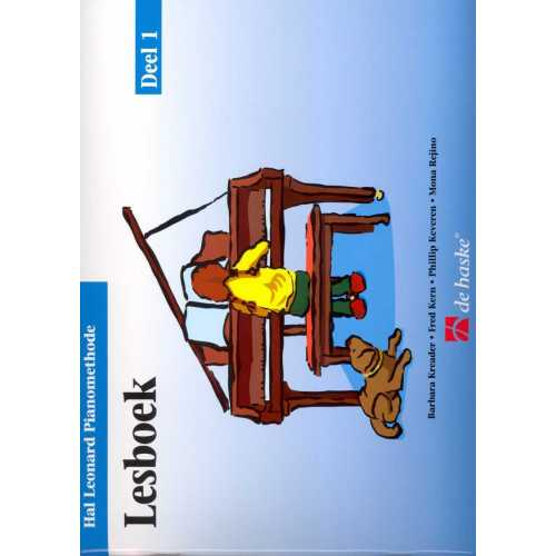 Hal Leonard pianomethode lesboek deel 1