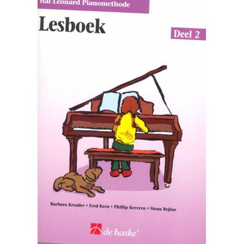 Hal Leonard pianomethode lesboek deel 2