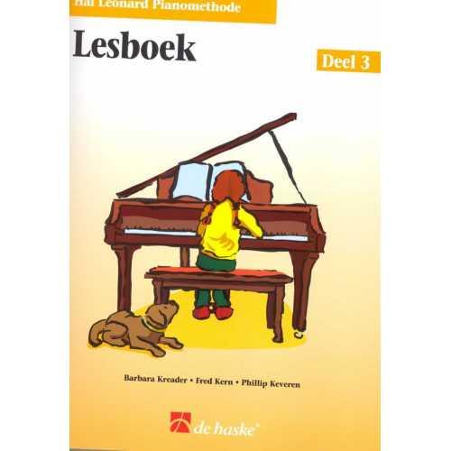 Hal Leonard pianomethode lesboek deel 3