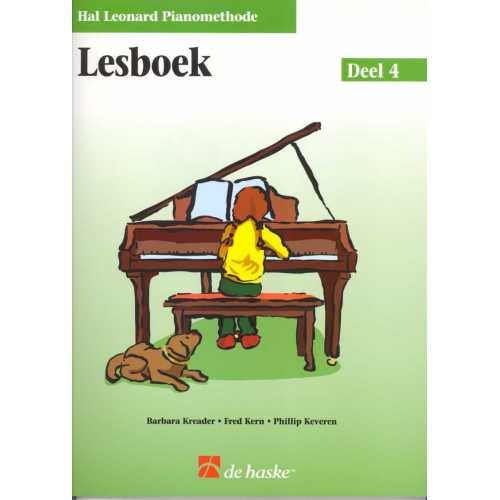 Hal Leonard pianomethode lesboek deel 4