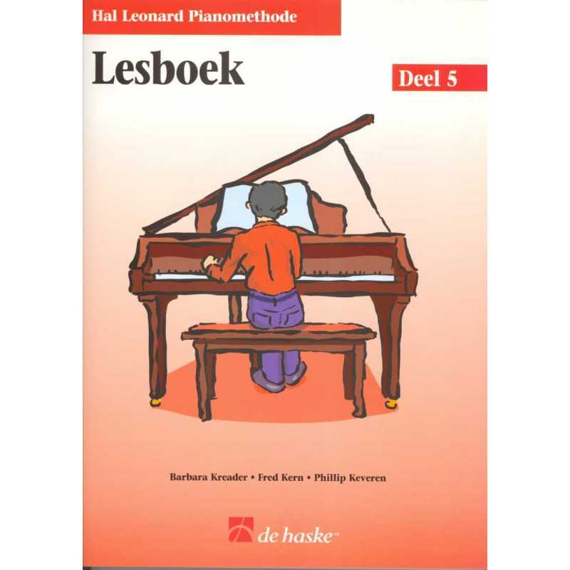 Hal Leonard pianomethode lesboek deel 5