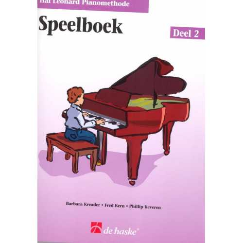 Hal Leonard pianomethode speelboek deel 2