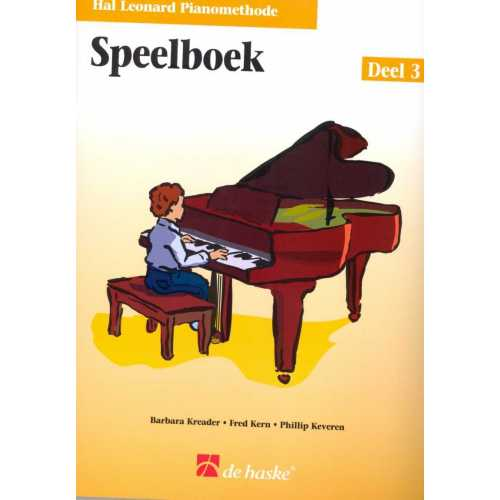 Hal Leonard pianomethode speelboek deel 3