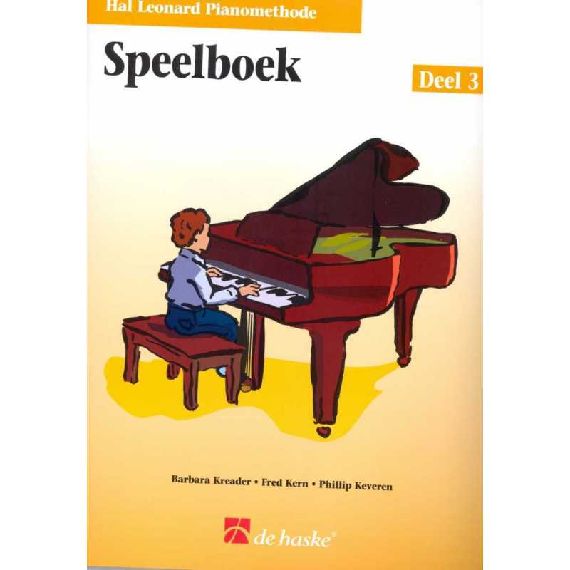 Hal Leonard pianomethode speelboek deel 3