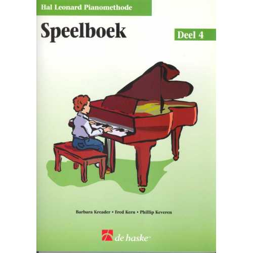 Hal Leonard pianomethode speelboek deel 4