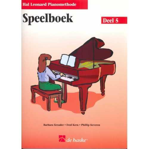 Hal Leonard pianomethode speelboek deel 5