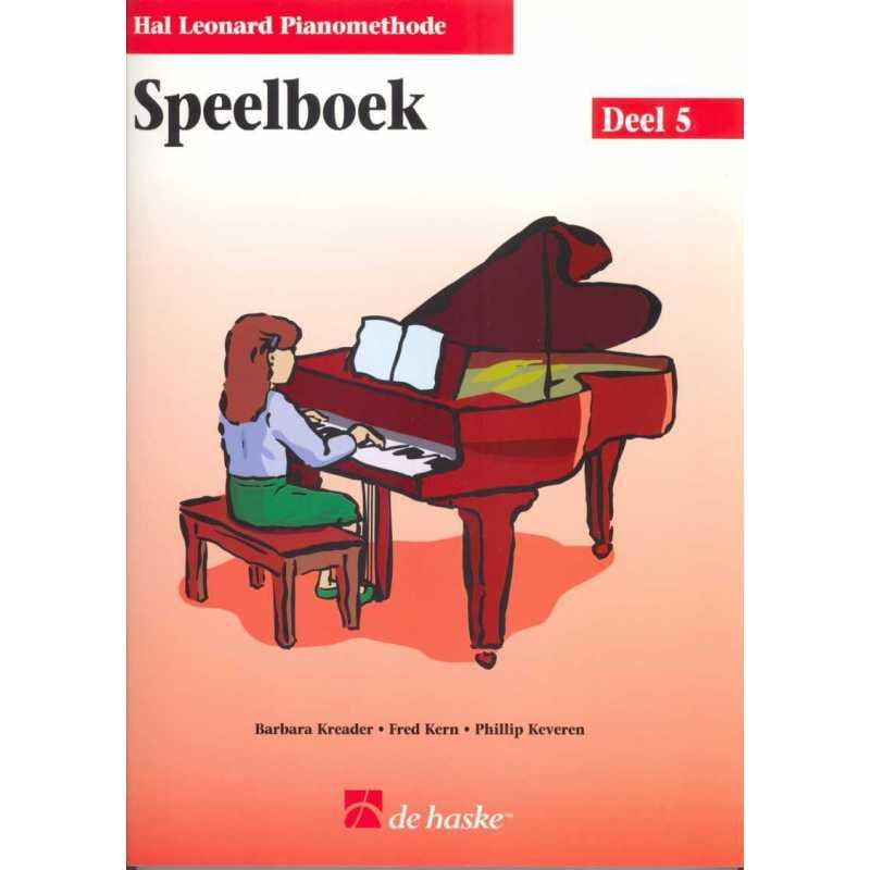 Hal Leonard pianomethode speelboek deel 4
