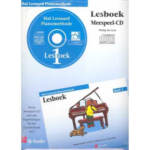 Hal Leonard pianomethode lesboek CD deel 1