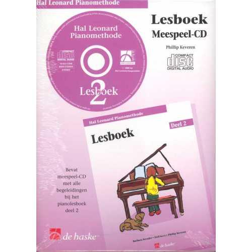 Hal Leonard pianomethode lesboek CD deel 2