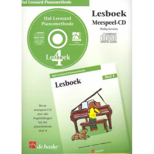 Hal Leonard pianomethode lesboek CD deel 4