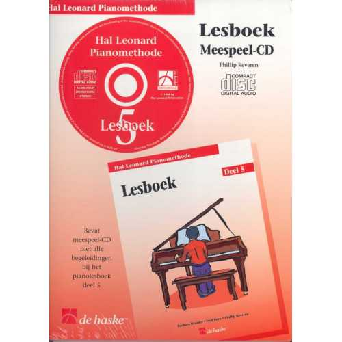 Hal Leonard pianomethode lesboek CD deel 5
