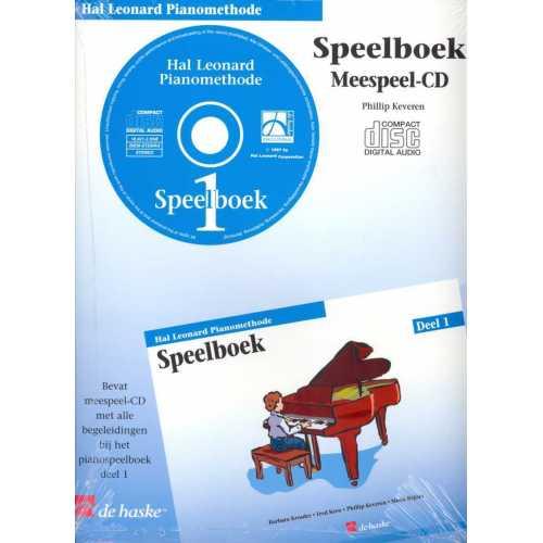 Hal Leonard pianomethode speelboek CD deel 1