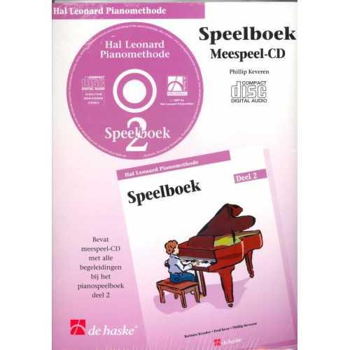 Hal Leonard pianomethode speelboek CD deel 2
