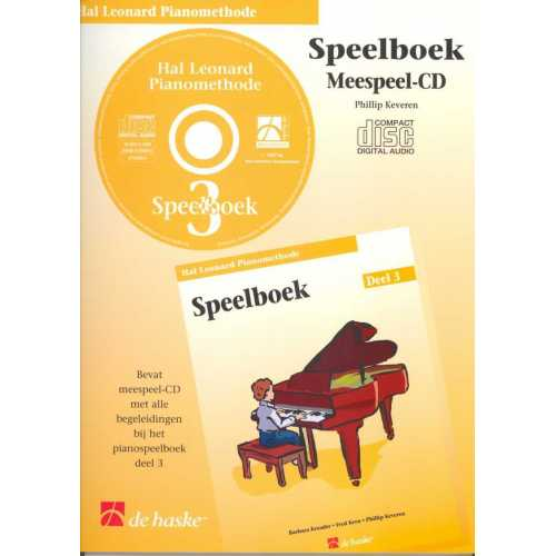 Hal Leonard pianomethode speelboek CD deel 3