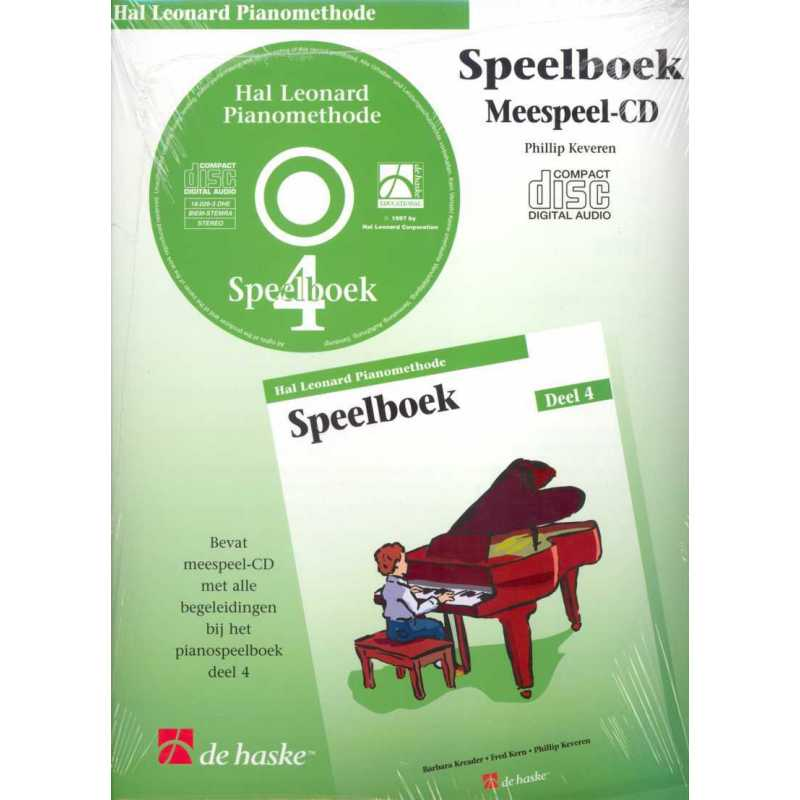 Hal Leonard pianomethode speelboek CD deel 4
