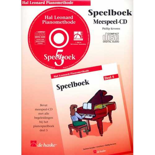 Hal Leonard pianomethode speelboek CD deel 5