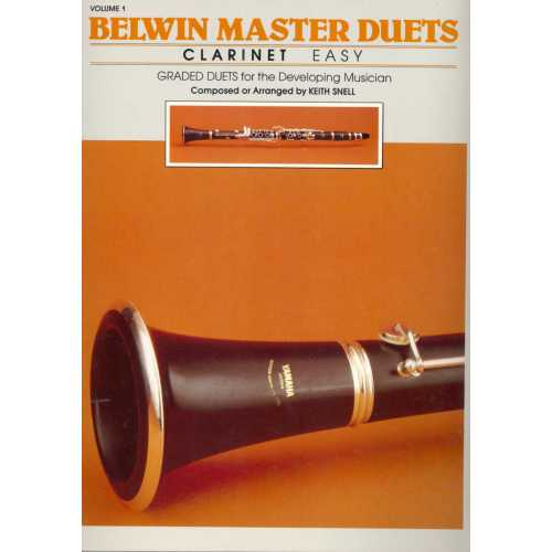 Belwin Master Duets for clarinet deel 1 (easy)