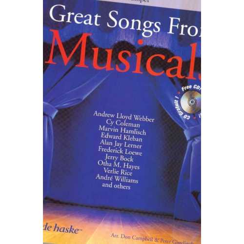 Great songs from Musicals (trompet)