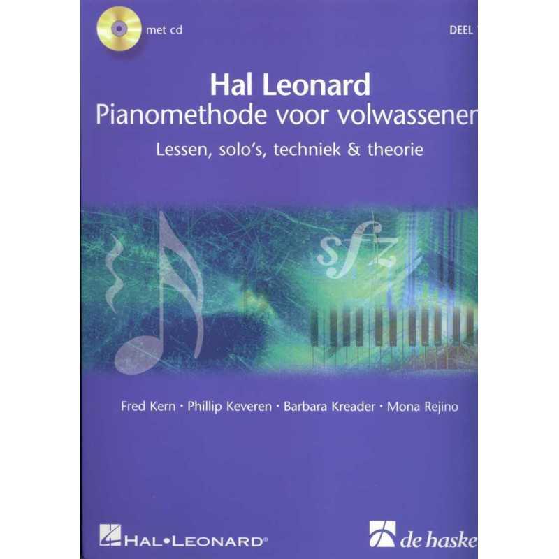 Hal Leonard Pianomethode voor volwassenen deel 1