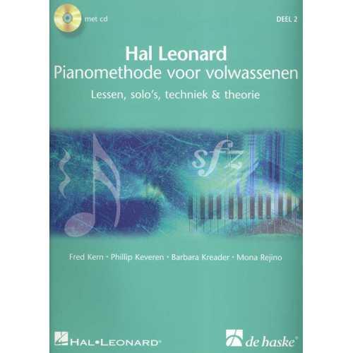 Hal Leonard Pianomethode voor volwassenen deel 2