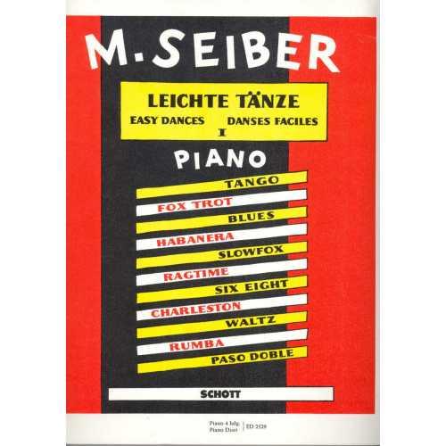 Leichte Tänze fur piano deel 1 (M. Seiber)