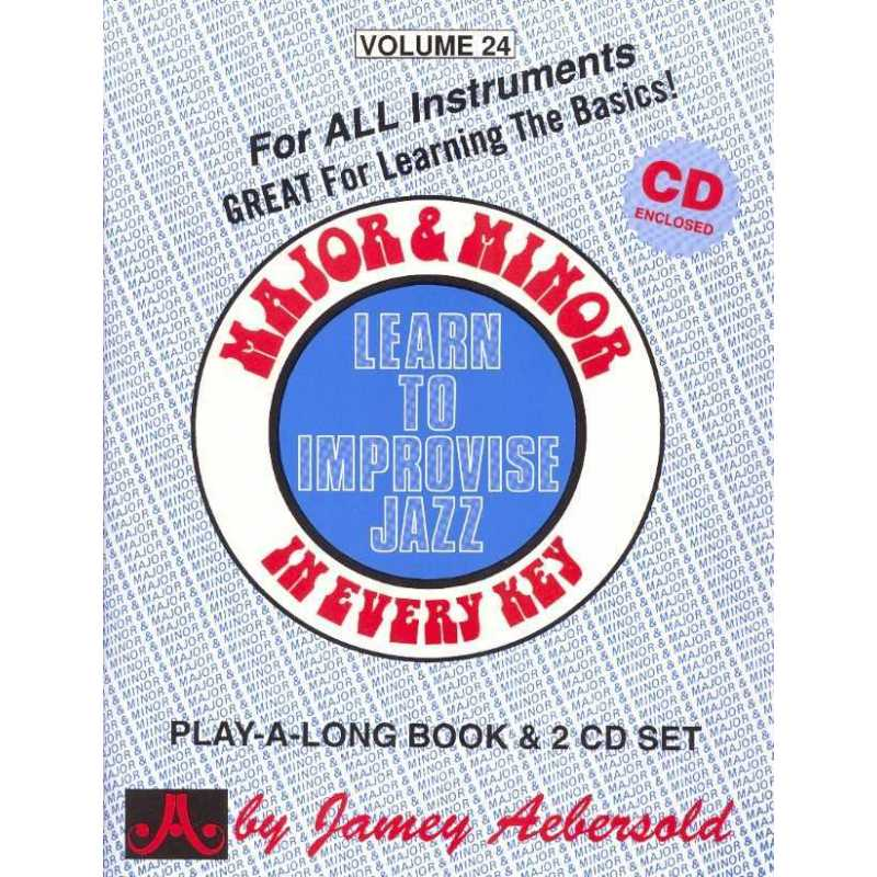 Major & Minor in every key for all instruments (Jamey Aebersold)