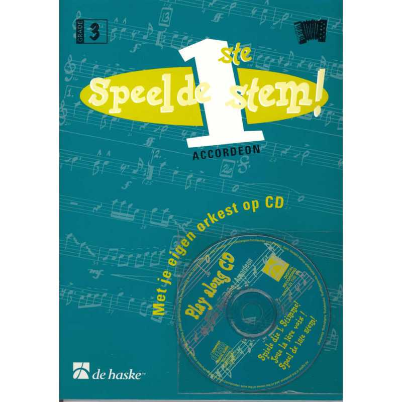 Speel de 1e stem (accordeon)