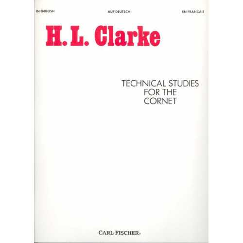 Technical studies for the cornet (H.J. Clarke)