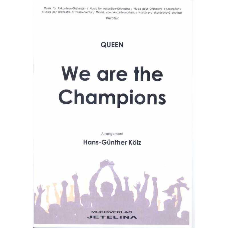 We are the Champoins (stemmenset)