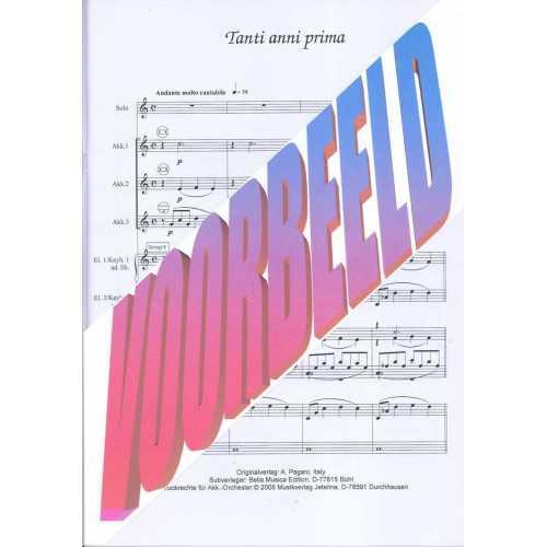 Tanti Anni Prima (partituur)