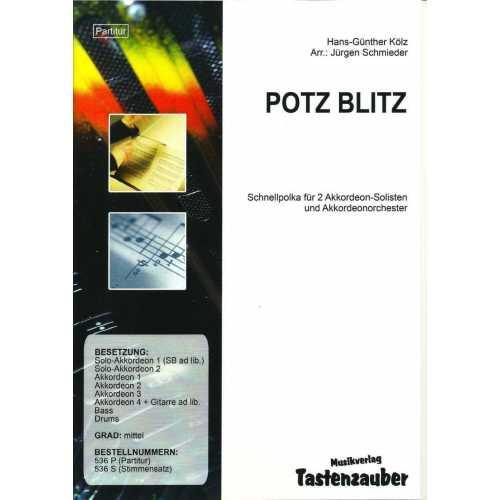 Potz Blitz (partituur)