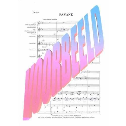 Pavane van Faure (partituur)