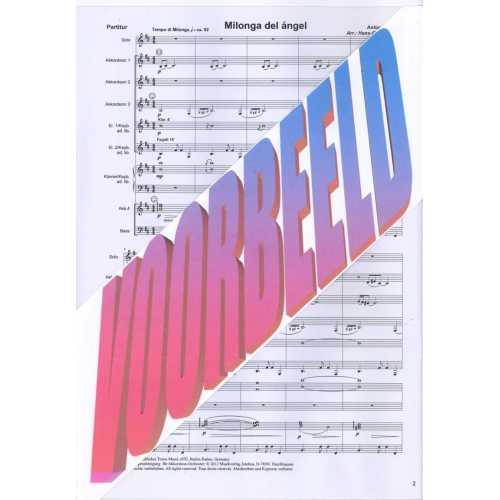 Milonga del Angel (partituur)