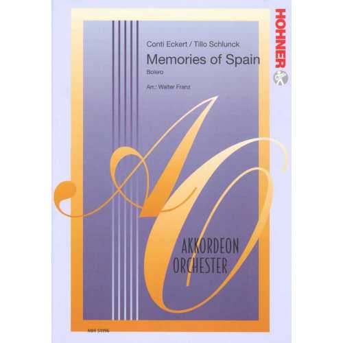 Memories of Spain (partituur)