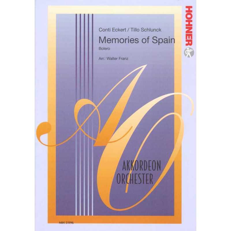 Memories of Spain (stemmenset)