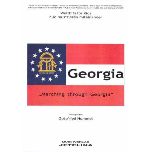 Marching through Georgia (partituur)