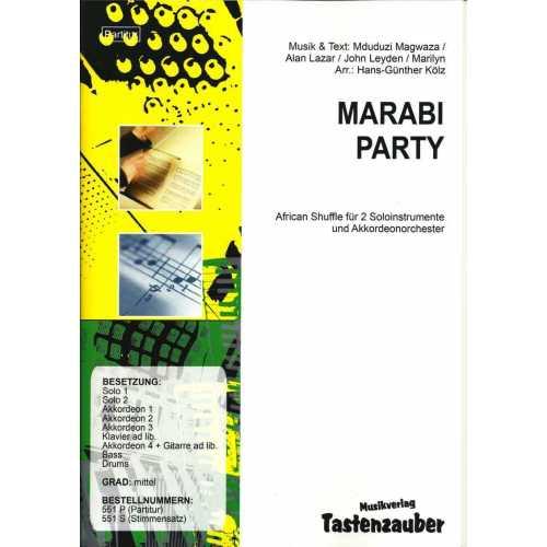 Marabi Party (partituur)