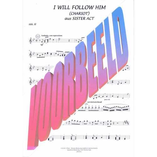 I will follow Him (stemmenset)