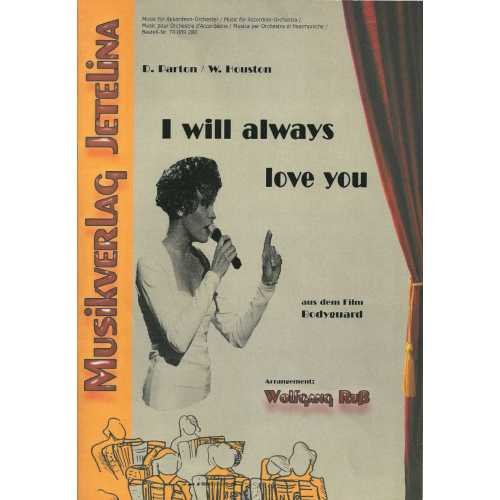I will always love you (partituur)