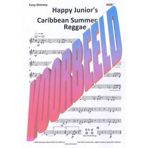 Happy Junior's Caribbean Summernight Reggae (partituur)