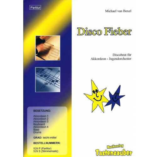 Disco Fieber (partituur)