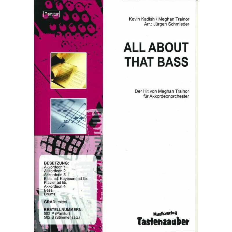 All about that bass (partituur)