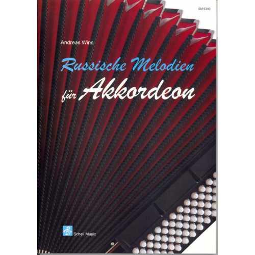 Russische melodien für akkordeon (Andreas Wins)