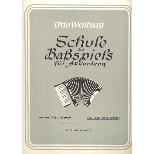 Schule des basspiels deel 2