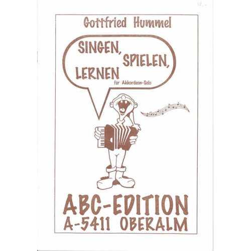 Singen, spielen, lernen (Gottfried Hummel)