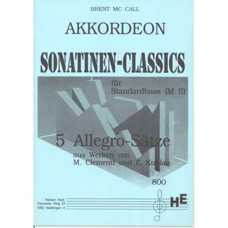 Sonatinen classics (Brent MC Call)