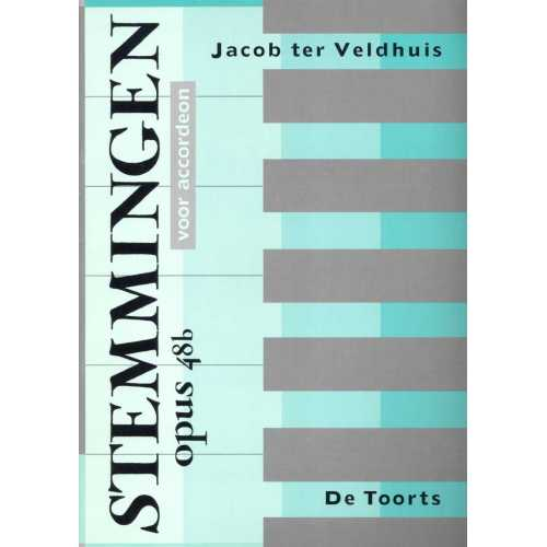 Stemmingen opus 48b voor accordeon (Jacon ter Veldhuis)