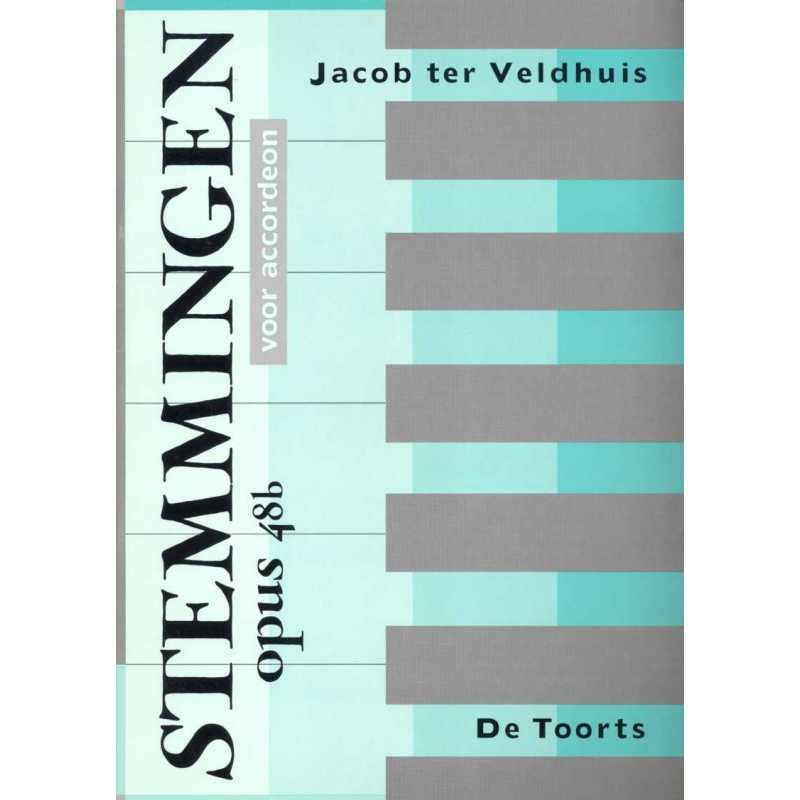 Stemmingen opus 48b voor accordeon (Jacon ter Veldhuis)